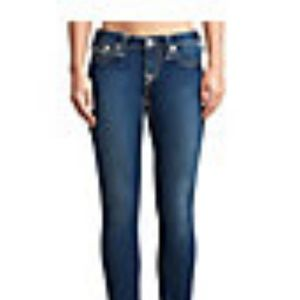 TRUE RELIGION Big T Stella Skinny Jeans 30 EUC